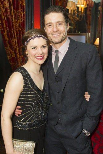 Gina Beck (Magnolia Hawks) and Ben Freeman