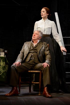 Hobson's Choice - Martin Shaw (Henry Hobson), Naomi Frederick (Maggie Hobson)