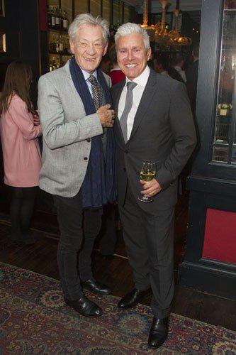 Ian McKellen and David Ian (Producer)