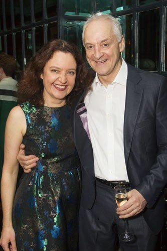 Lucy Briers (Parthy Ann Hawks) and Malcolm Sinclair (Capt Andy Hawks)