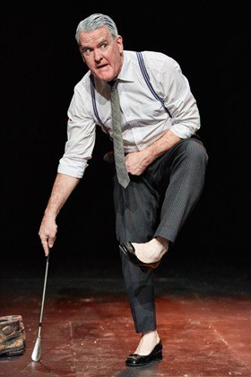 The Man In The Woman's Shoes at The Tricycle Theatre Written and Performed by Mikel Murfi