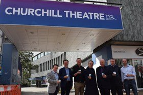 Churchill Theatre Bromley London