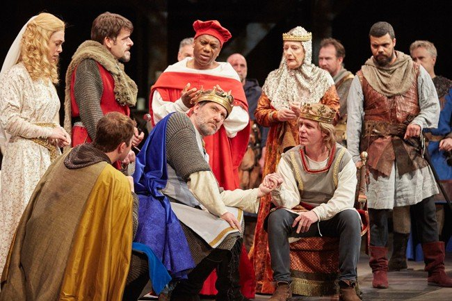 King John at Rose Theatre Kingston. Photo by Mark Douet