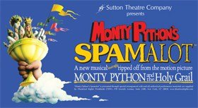 Spamalot Epsom Playhouse