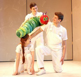 The Very Hungry Caterpillar - The 2016 New York cast.