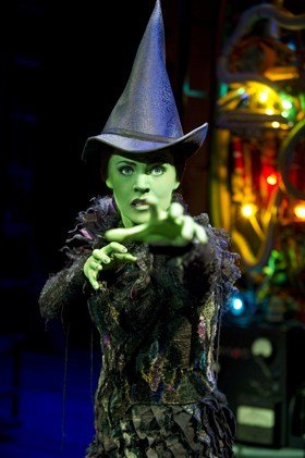 Wicked: Rachel Tucker Photo Tristram Kenton