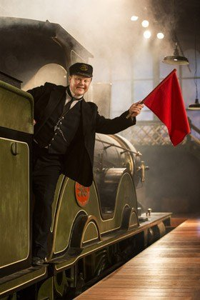 Justin Fletcher as Mr Perks in The Railway Children