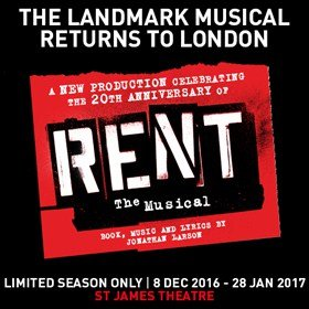 RENT St JamesTheatre