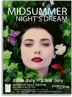 A Midsummer Nights Dream Waterloo East