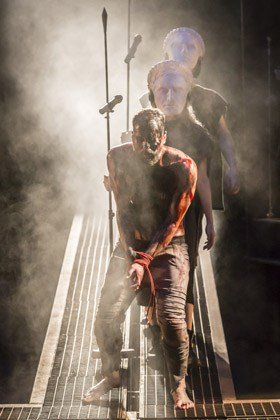 Declan Bennett as Jesus in Jesus Christ Superstar