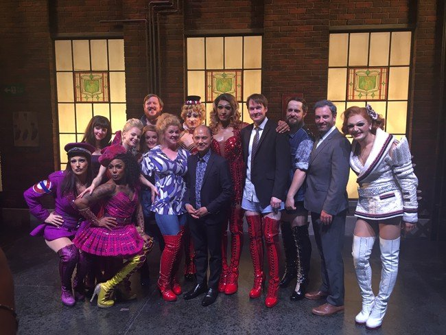 Jimmy Choo and the Company of Kinky Boots July 2016
