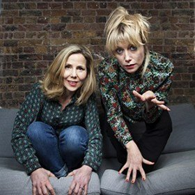 SALLY PHILLIPS AND LILY BEVAN