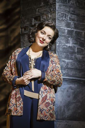 Sheridan Smith (Fanny Brice) in Funny Girl