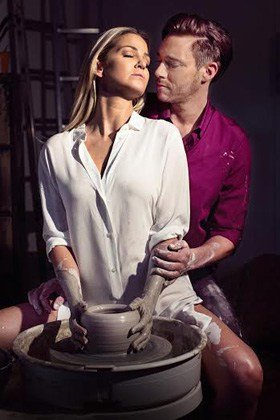 Ghost The Musical UK Tour - Sarah Harding as Molly and Andrew Moss as Sam