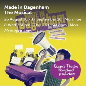 Made In Dagenham Queens Theatre Hornchurch