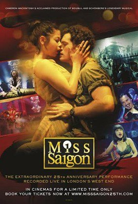 Miss Saigon 25th Anniversary live in cinemas