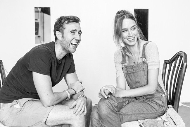 Unfaithful Rehearsals: Ruta Gedmintas with Matthew Lewis - Photo credit Marc Brenner