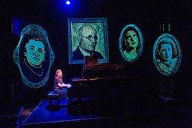 Mona Golabek (Lisa Jura) in The Pianist Of Willesden Lane by Hershey Felder