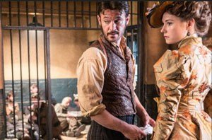 Ripper Street: Adam Rothenberg and Lydia Wilson