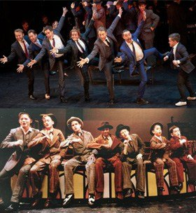 BUGSY MALONE then and now at the NYMT Gala