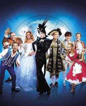London Palladium Cast Photo Cinderella