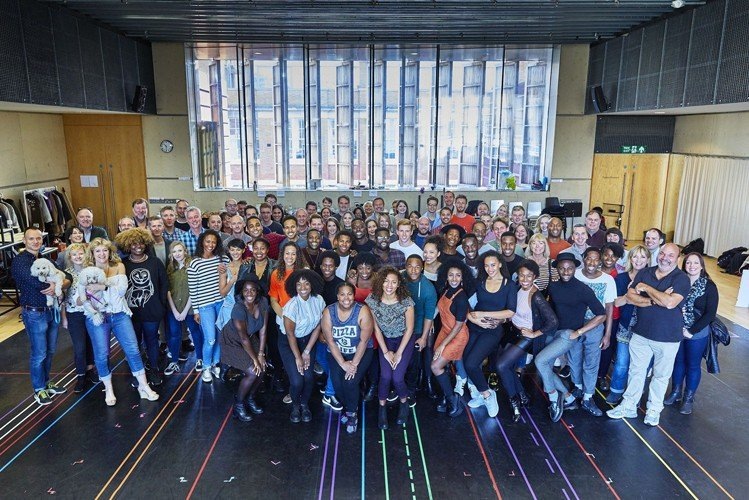 Dreamgirls First Day of Rehearsals Credit Ralf Brinkhoff