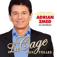Adrian Zmed in LA CAGE AUX FOLLES