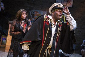 Moby Dick! The Musical - Union Theatre - Brenda Edwards and Anton Stephans