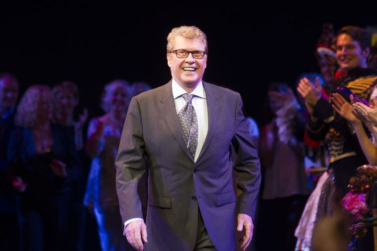 Michael Crawford during the curtain call - Photo by Dan Wooller