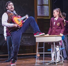 Review Of School Of Rock The Musical Londontheatre1com