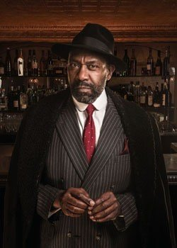 Lenny Henry in The Resistible Rise of Arturo Ui at The Donmar Warehouse
