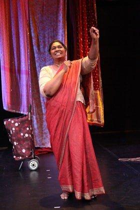 Rani Moorthy in Whose Sari Now?
