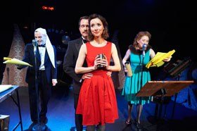 The Fitzrovia Radio Hour's A Christmas Carol at The Vaults Theatre