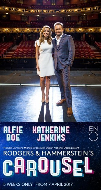 Book tickets for  Carousel starring Alfie Boe and Katherine Jenkins