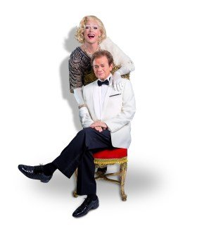 La Cage Aux Folles - John Partridge as 'Zaza' & Adrian Zmed as 'Georges'