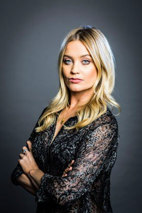 Laura Whitmore (Not Dead Enough, by Peter James).
