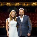 Katherine Jenkins and Alfie Boe on stage at the London Coliseum
