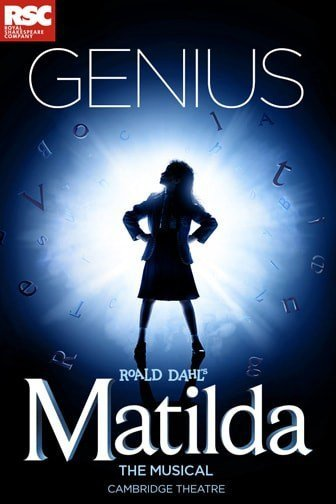 Book Matilda The Musical theatre tickets online 24/7