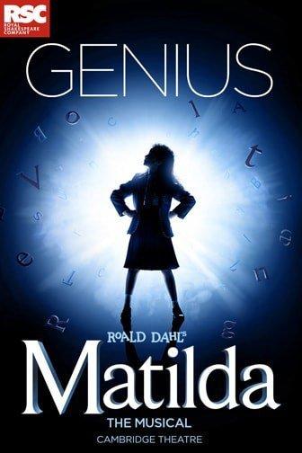 Matilda The Musical London Cambridge Theatre
