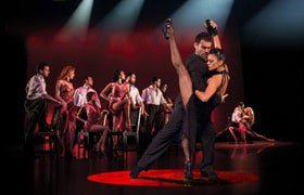 Tango Fire: Flames of Desire at the Peacock Theatre