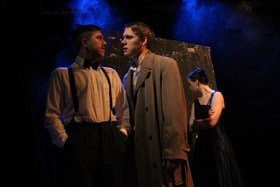 The Doppel Gang (Tristan Bates Theatre) - Jake Urry, Peter Stone and Rachel Hartley