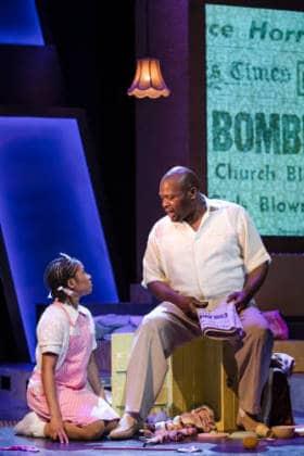 Bubbly TRSE Karis Jack (Young Viveca) & Trevor A Toussaint (Daddy) Credit Scott Rylander