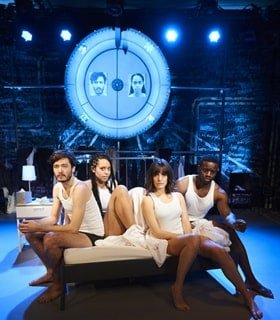 La Ronde, Alex Vlahos, Amanda Wilkin, Lauren Samuels and Leemore Marrett Jr (courtesy Ray Burmiston)