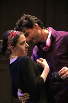 Maeve Elmore as Maria and Jared Denner as Platonov