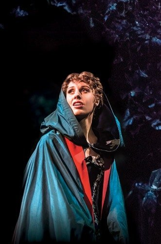 THE PHANTOM OF THE OPERA - Celinde Schoenmaker as 'Christine Daaé'. Photo credit Johan Persson