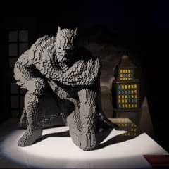 The Art of the Brick DC Super Heroes - Batman