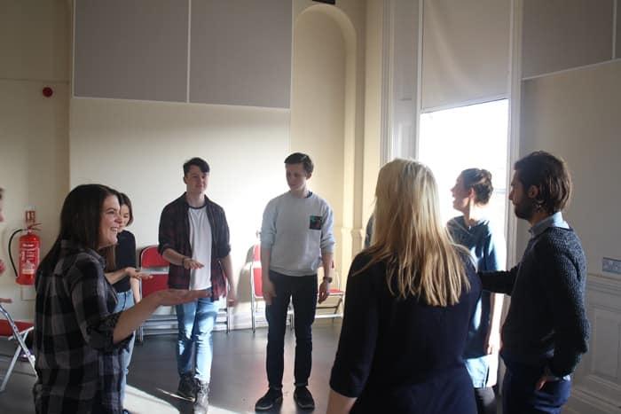 Thisbe Rehearsal