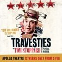 Review of Travesties at the Apollo Theatre London