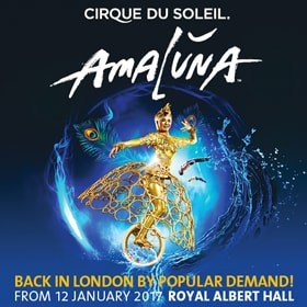Amaluna - Cirque Du Soleil at the Royal Albert Hall