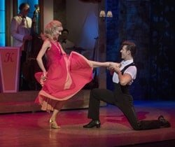 Dirty Dancing tour – Carlie Milner & Lewis Griffiths – c Alastair Muir